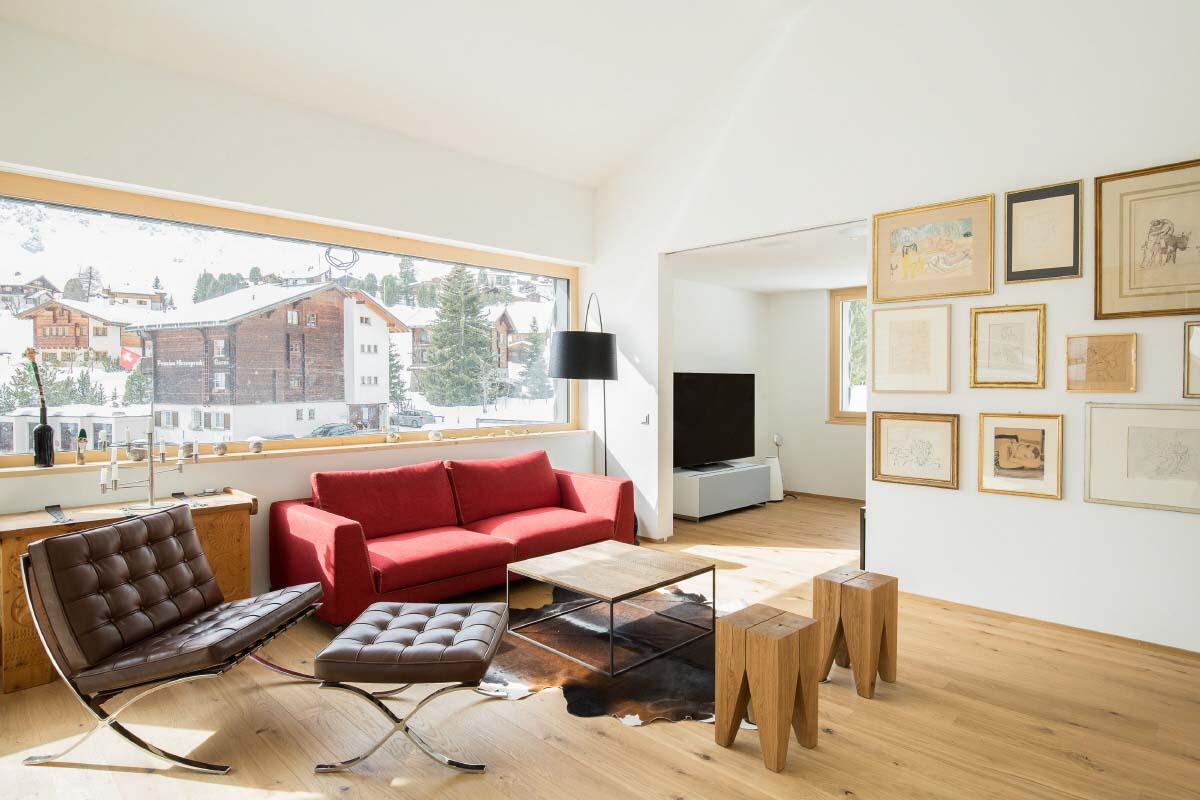 sch nste dachwohnung zum kaufen in innerarosa arosa. Black Bedroom Furniture Sets. Home Design Ideas